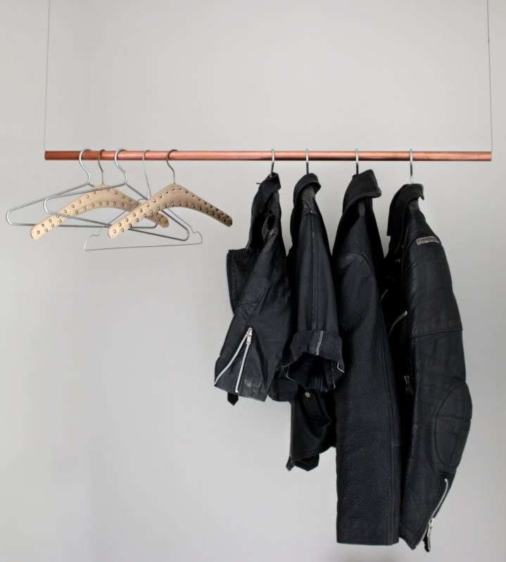 Best ideas about DIY Hanging Clothing Rack . Save or Pin Love Aesthetics I N T E R I O R Floating Clothing Rack Now.