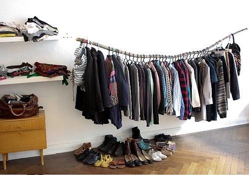 Best ideas about DIY Hanging Clothing Rack . Save or Pin 4 DIY Clothing Racks Mashoid Now.