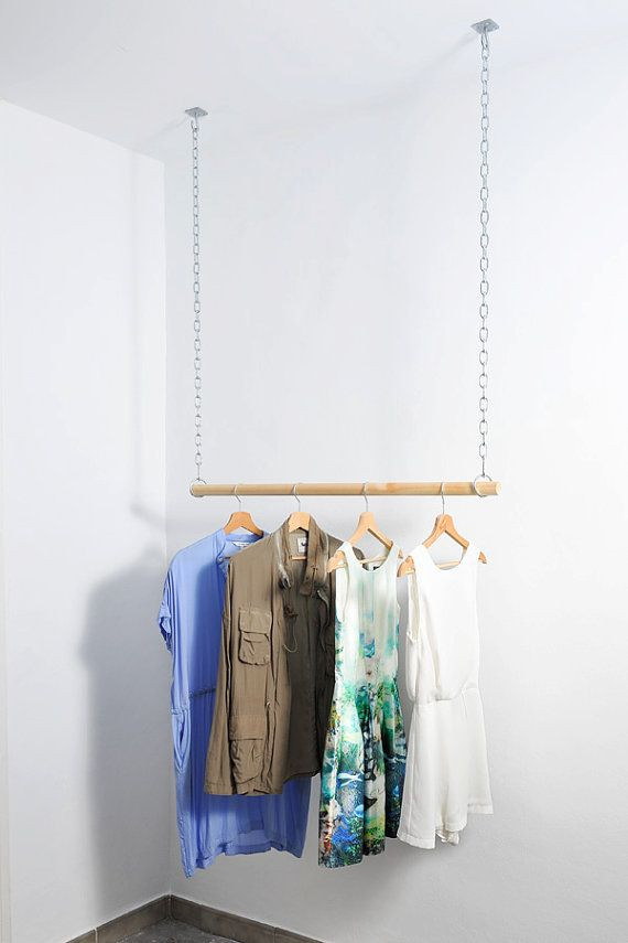 Best ideas about DIY Hanging Clothing Rack . Save or Pin Best 25 Hanging clothes ideas on Pinterest Now.