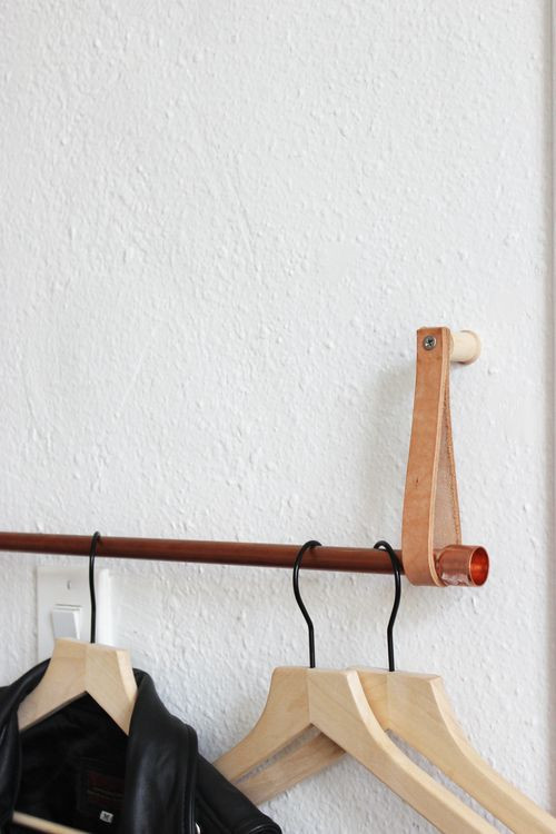 Best ideas about DIY Hanging Clothing Rack . Save or Pin Best 25 Hanging clothes racks ideas on Pinterest Now.