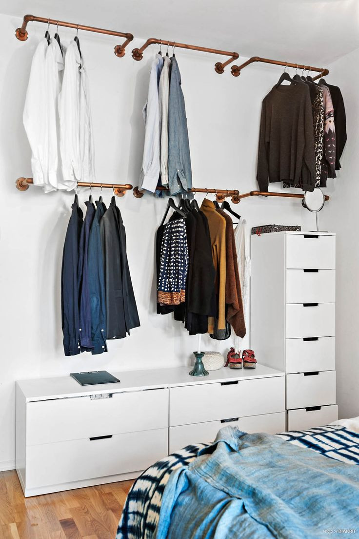 Best ideas about DIY Hanging Clothing Rack . Save or Pin Best 20 Hanging Clothes Racks ideas on Pinterest Now.