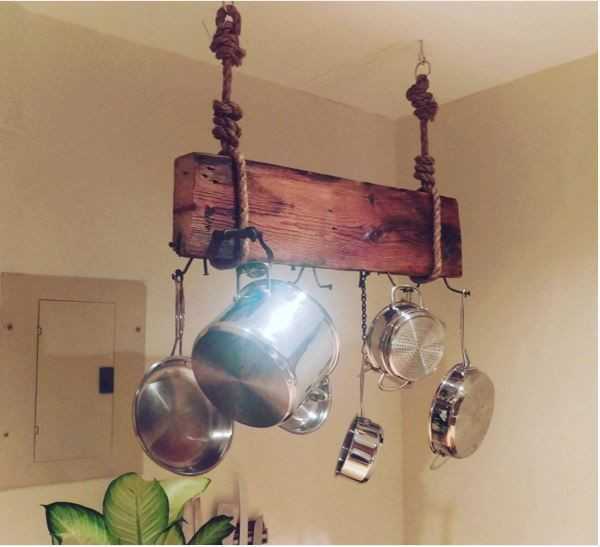 Best ideas about DIY Hanging Pot Racks . Save or Pin 12 DIY pot rack projects to save space in your kitchen Now.