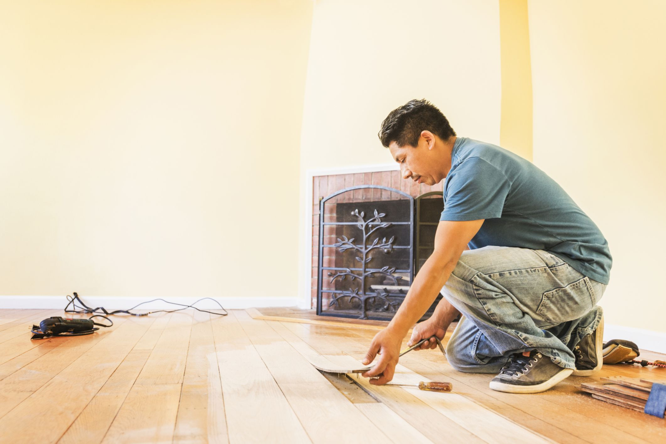 Best ideas about DIY Hardwood Floor Install . Save or Pin Solid Hardwood Flooring Costs Professional vs DIY Now.