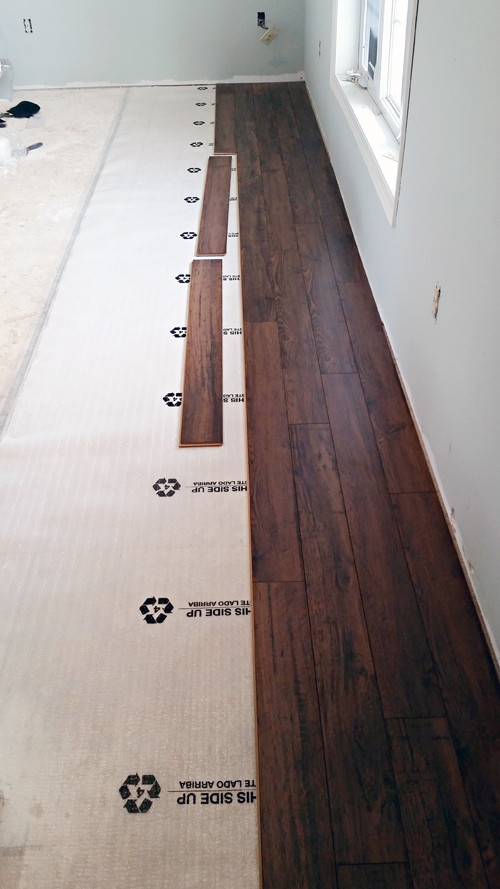 Best ideas about DIY Hardwood Floor Install . Save or Pin IHeart Organizing Do it Yourself Floating Laminate Floor Now.
