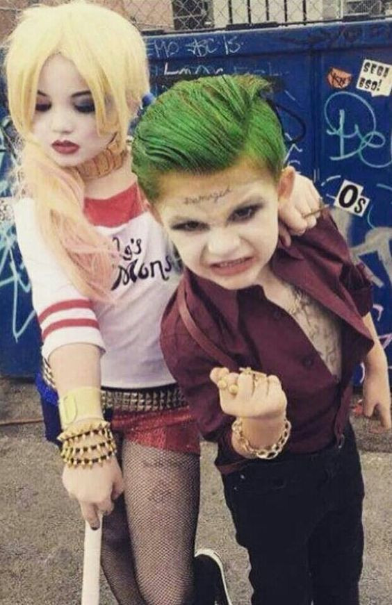 Best ideas about DIY Harley Quinn Costume For Kids . Save or Pin Characters Harley Quinn & Joker From DC ics Now.