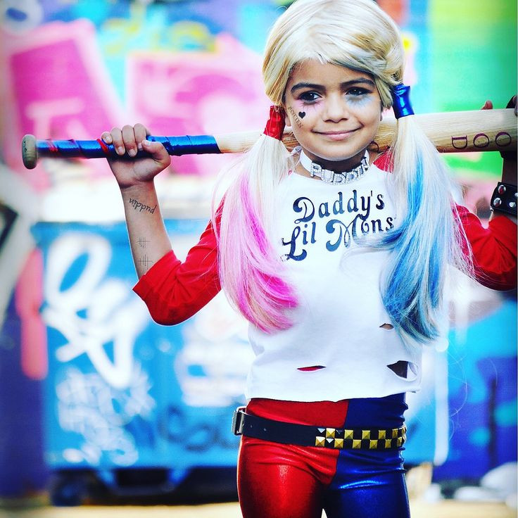 Best ideas about DIY Harley Quinn Costume For Kids . Save or Pin 17 Best images about Halloween on Pinterest Now.