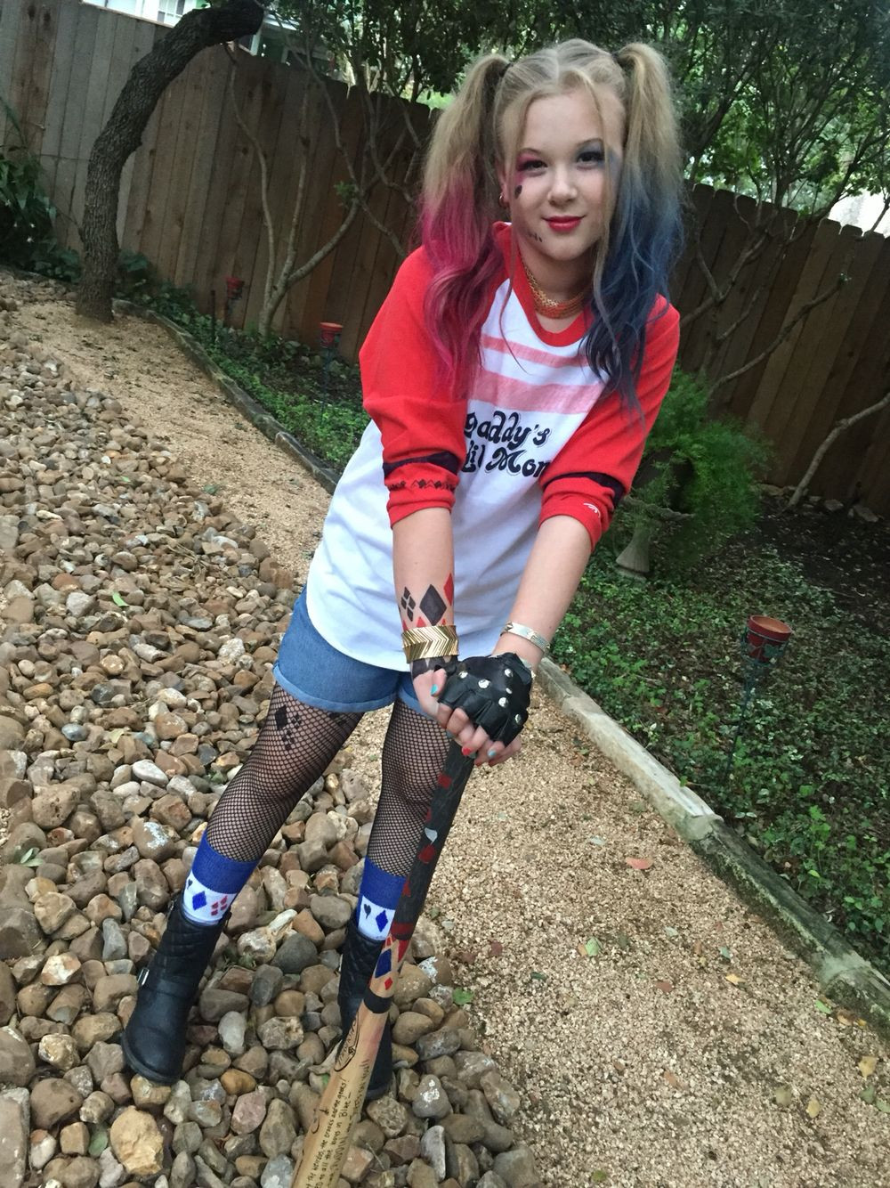 Best ideas about DIY Harley Quinn Costume For Kids . Save or Pin Harley Quinn Costume Harely Quinn Now.