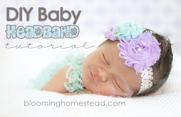 Best ideas about DIY Headband Baby . Save or Pin DIY Baby Headband Blooming Homestead Now.