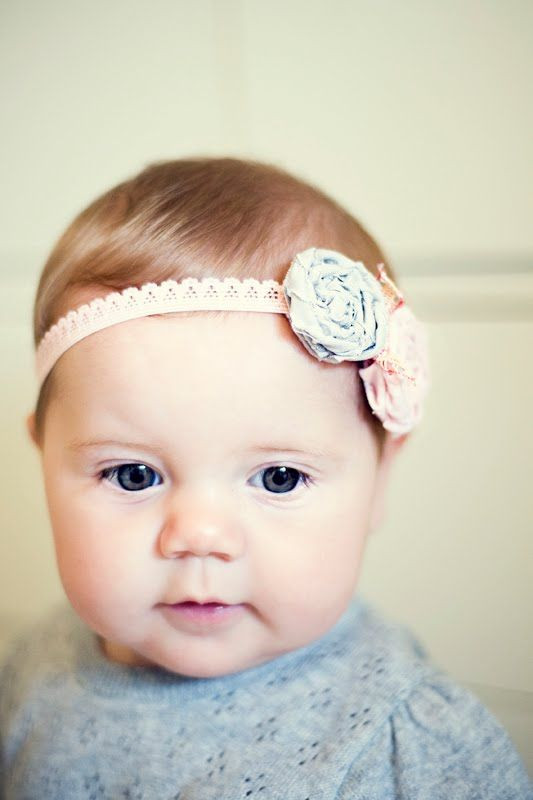 Best ideas about DIY Headbands For Baby . Save or Pin DIY Baby Headband Now.