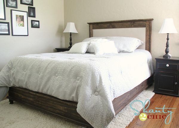 Best ideas about DIY Headboards For Queen Beds . Save or Pin 1000 images about DIY Bed on Pinterest Now.