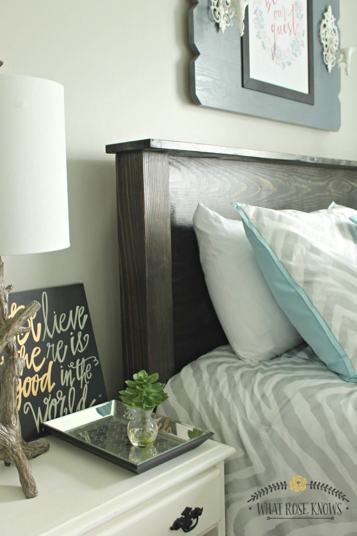 Best ideas about DIY Headboards For Queen Beds . Save or Pin DIY Wood Headboard under $35 in 2019 Now.