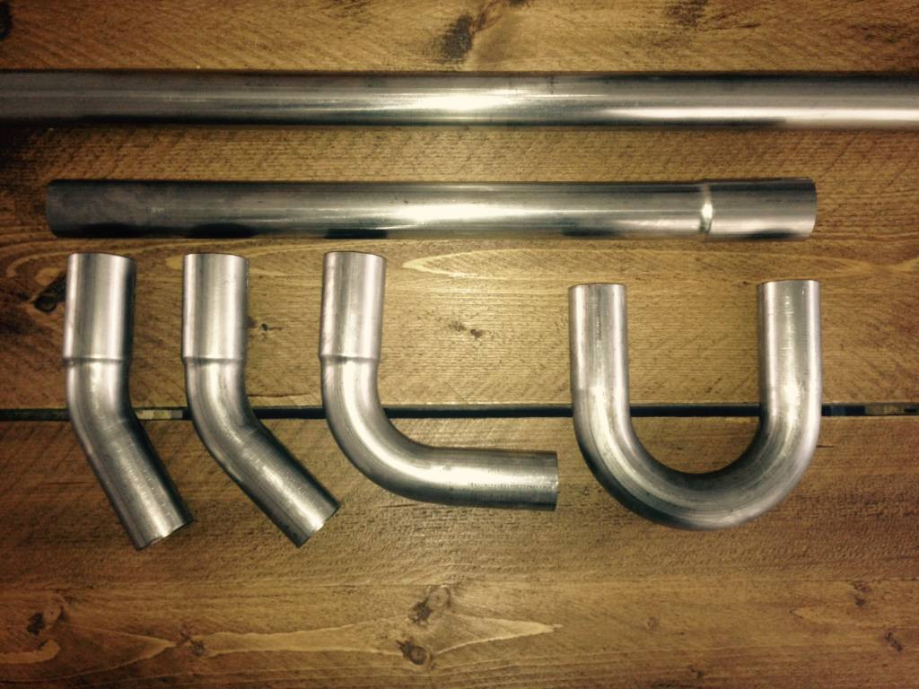 Best ideas about DIY Header Kit . Save or Pin 38MM DIY Exhaust Tubing Kit Stainless Steel Now.