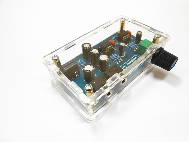Best ideas about DIY Headphone Amp Kit . Save or Pin Single Power Supply Portable HIFI Headphone Amplifier PCB Now.