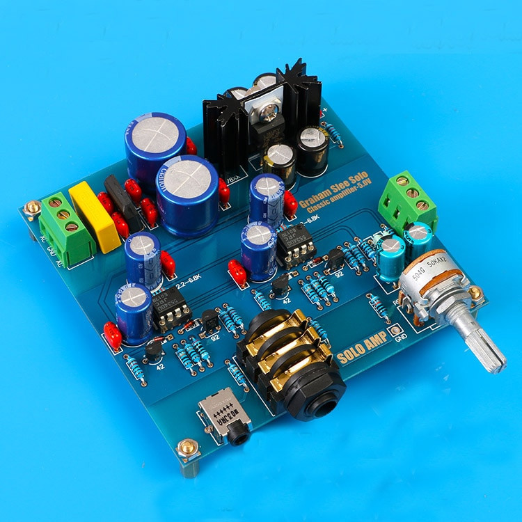 Best ideas about DIY Headphone Amp Kit . Save or Pin AC DC12V 18V Audio Hifi Headphone amplifier kit base on Now.