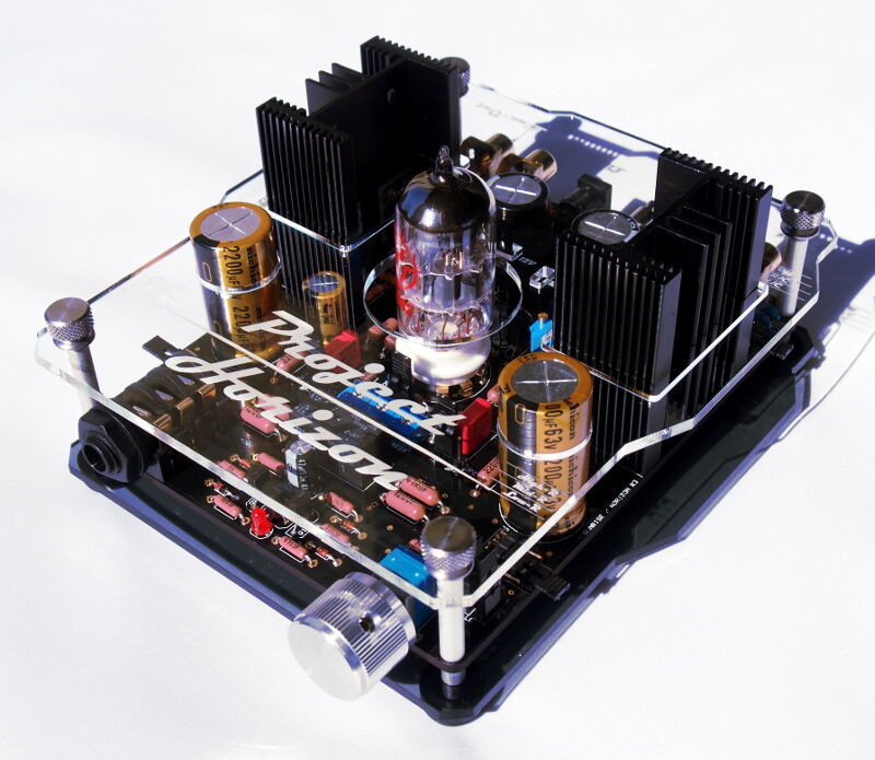 Best ideas about DIY Headphone Amp Kit . Save or Pin G1217 PROJECT HORIZON III TUBE HEADPHONE AMPLIFIER PRE Now.
