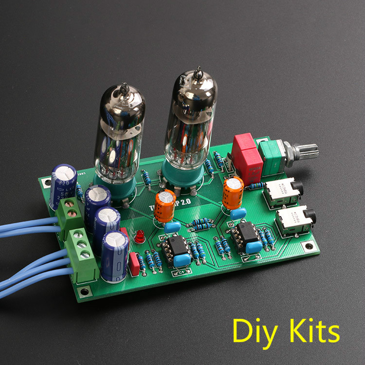 Best ideas about DIY Headphone Amp Kit . Save or Pin Class A 6J5 Vacuum Tube Pre and Preamp HiFi Headphone Now.