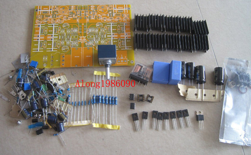 Best ideas about DIY Headphone Amp Kit . Save or Pin DIY HV4 Headphone amplifier kit with Bule ALPS potentiometer Now.