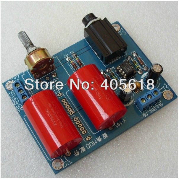 Best ideas about DIY Headphone Amp Kit . Save or Pin DIY RA1 Headphone Amplifier Kit Power AMP JRC4556AD in Now.