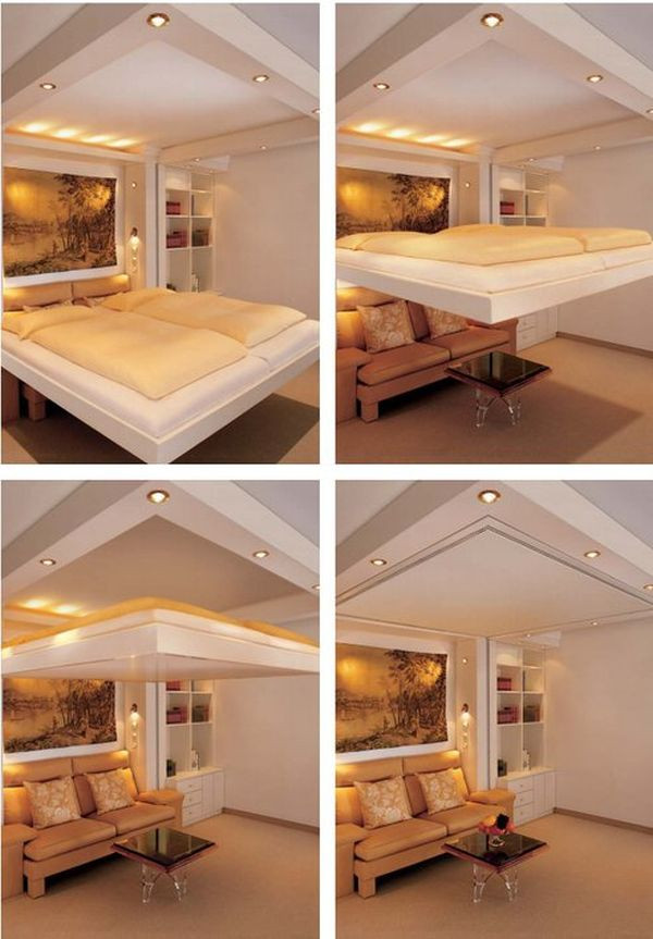 Best ideas about DIY Hide A Bed . Save or Pin Clever And Space Saving Beds Which You Can Slide Away and Hide Now.