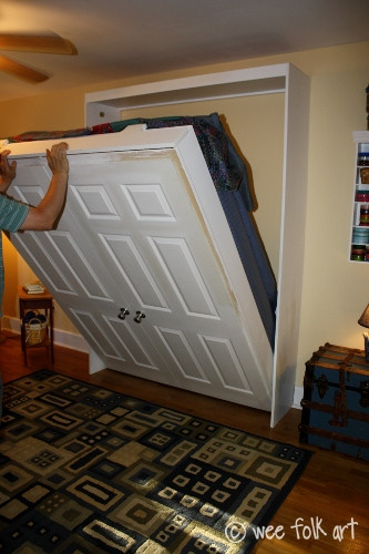 Best ideas about DIY Hide A Bed . Save or Pin 100 Ways to Use Old Doors Remodelaholic Now.