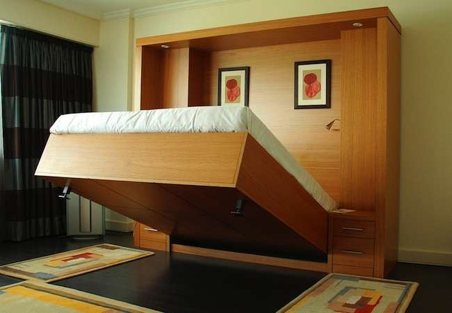 Best ideas about DIY Hide A Bed . Save or Pin Murphy Bed DIY Murphy Beds 9 Hide Away Sleepers Bob Vila Now.