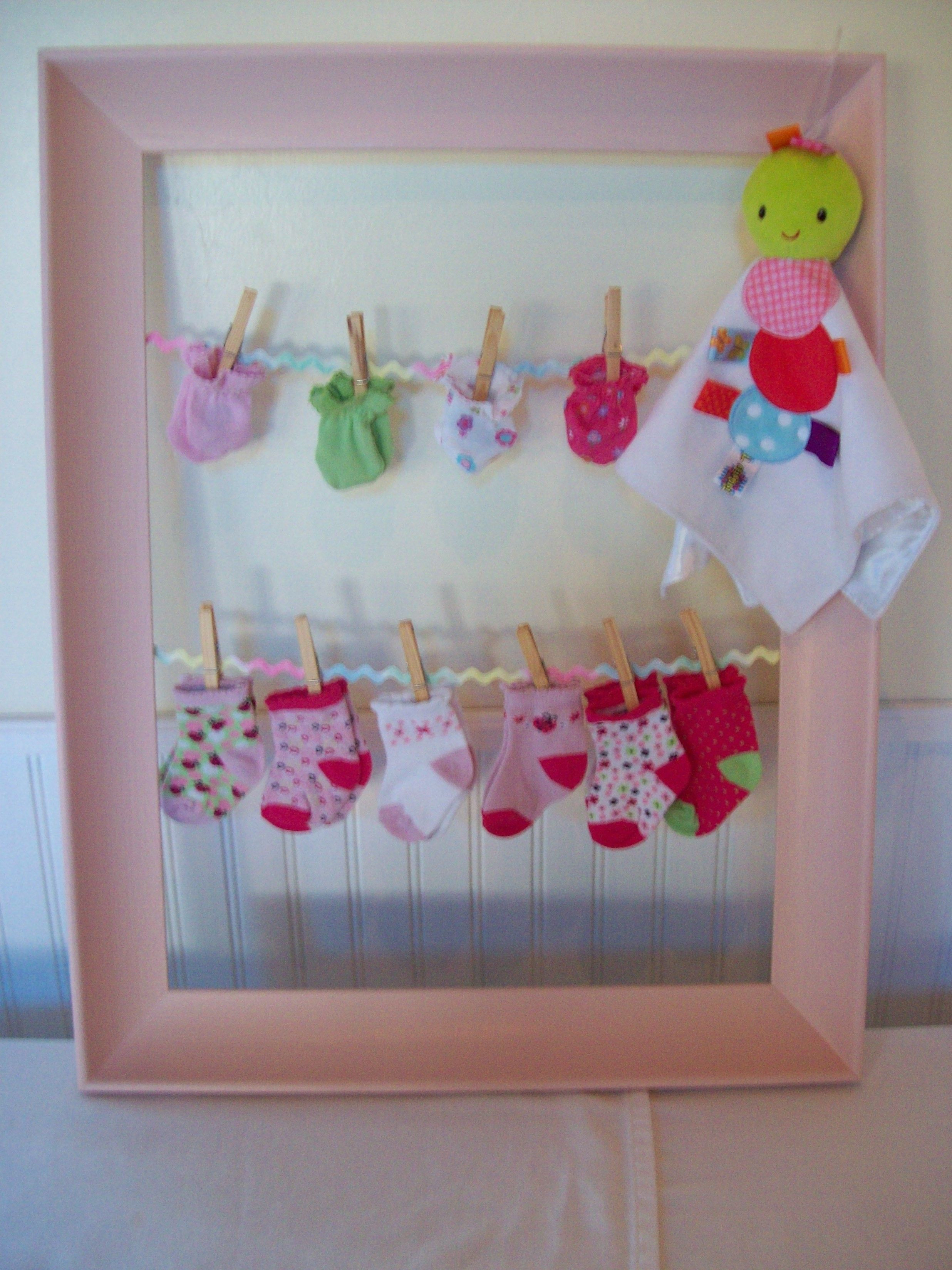 Best ideas about DIY Homemade Baby Shower Decorations . Save or Pin MY DIY Baby Shower Decorations Baby Shower Now.