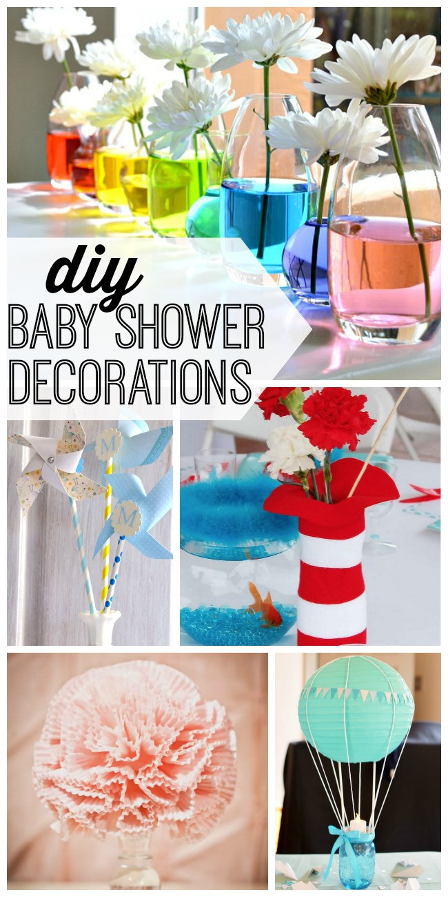 Best ideas about DIY Homemade Baby Shower Decorations . Save or Pin DIY Baby Shower Decorations My Life and Kids Now.