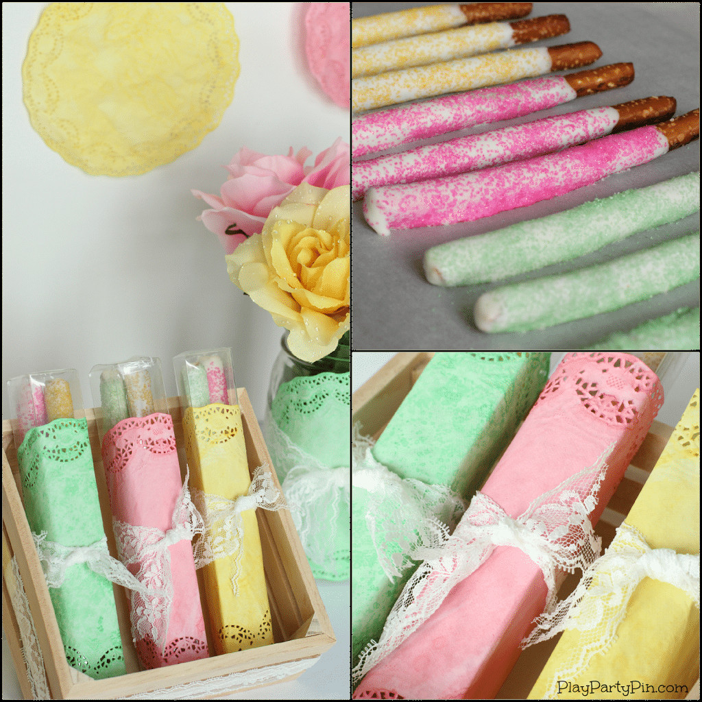 Best ideas about DIY Homemade Baby Shower Decorations . Save or Pin Simple DIY Spring Baby Shower Decorations Play Party Plan Now.