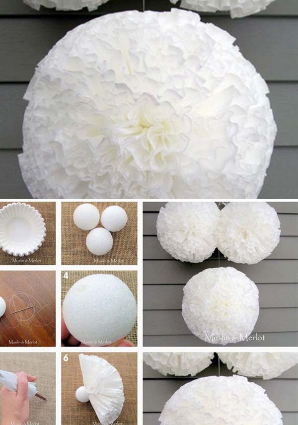Best ideas about DIY Homemade Baby Shower Decorations . Save or Pin 22 Insanely Creative Low Cost DIY Decorating Ideas For Now.