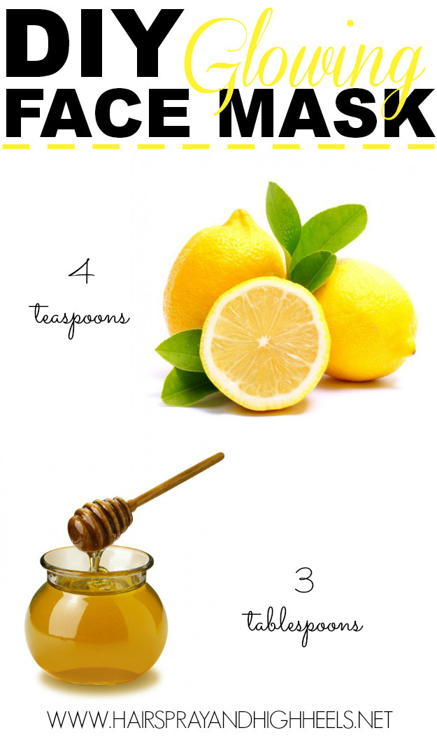 Best ideas about DIY Honey Mask . Save or Pin DIY Lemon & Honey Face Mask Hairspray and Highheels Now.