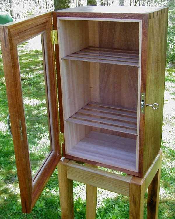 Best ideas about DIY Humidor Plans . Save or Pin How To Build A Humidor Cabinet WoodWorking Projects & Plans Now.