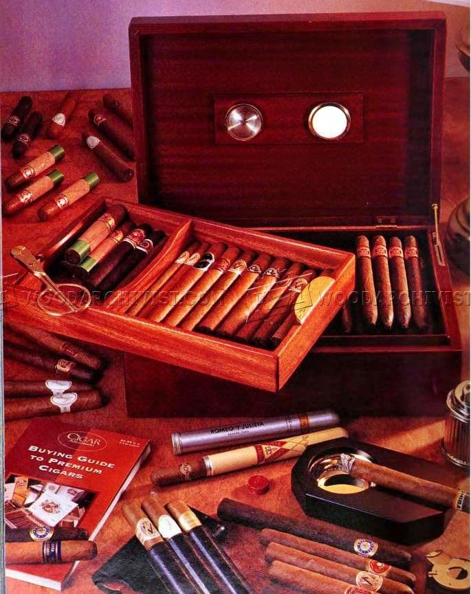 Best ideas about DIY Humidor Plans . Save or Pin Mahogany Cigar Humidor Plans • WoodArchivist Now.