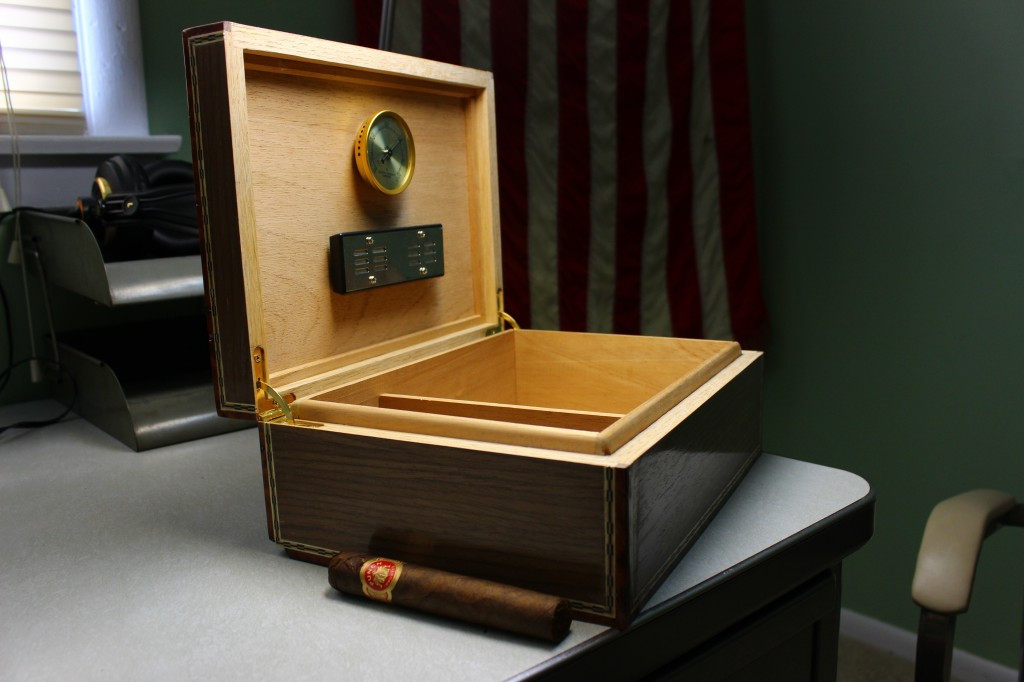 Best ideas about DIY Humidor Plans . Save or Pin An Awesome DIY Cigar Humidor A Guy Made For His Friend's Now.