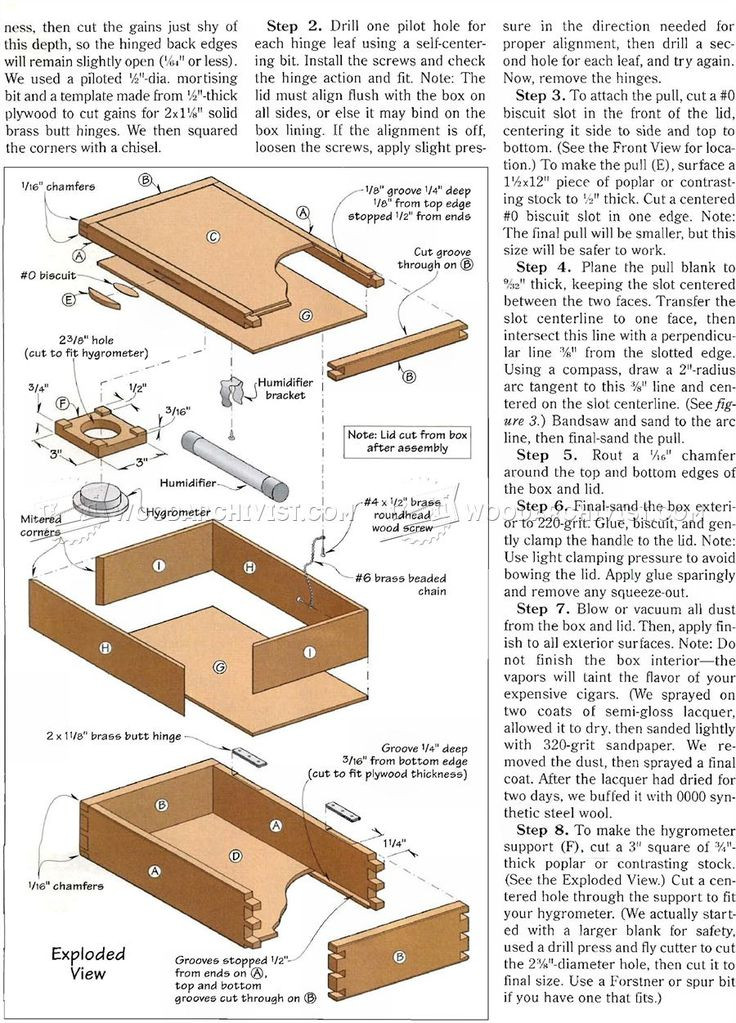 Best ideas about DIY Humidor Plans . Save or Pin 28 best Humidor Plans images on Pinterest Now.