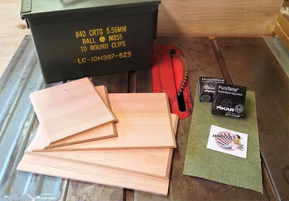 Best ideas about DIY Humidor Plans . Save or Pin DIY Cigar Humidor Kit Build your own cigar humidor from Now.