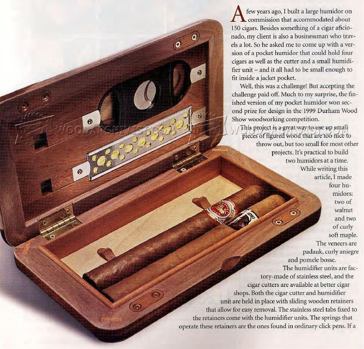 Best ideas about DIY Humidor Plans . Save or Pin 498 best Cigar Humidors images on Pinterest Now.