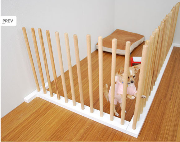 Best ideas about DIY Indoor Dog Gate . Save or Pin possibily genuis minimalist japanese dog gate Now.