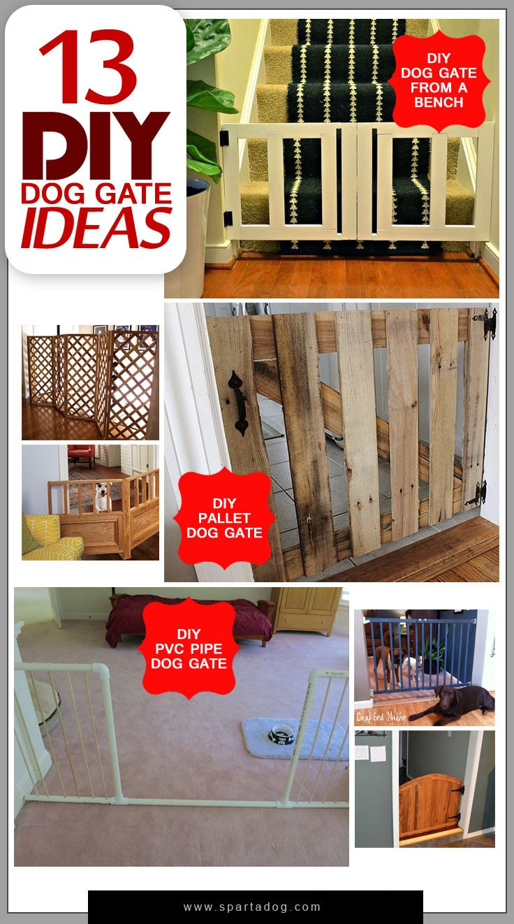 Best ideas about DIY Indoor Dog Gate . Save or Pin 13 DIY Dog Gate Ideas Pets Pinterest Now.
