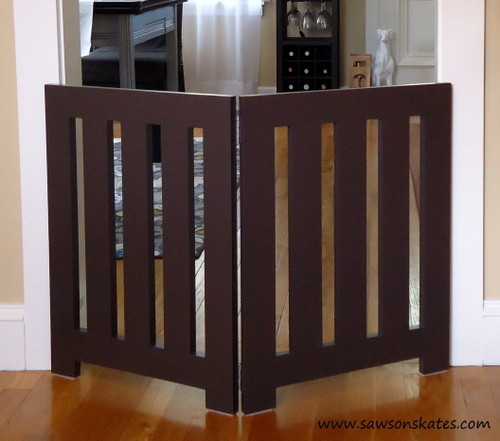 Best ideas about DIY Indoor Dog Gate . Save or Pin Ana White Now.