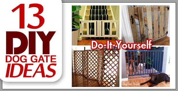 Best ideas about DIY Indoor Dog Gate . Save or Pin 13 DIY Dog Gate Ideas SpartaDog Blog Now.