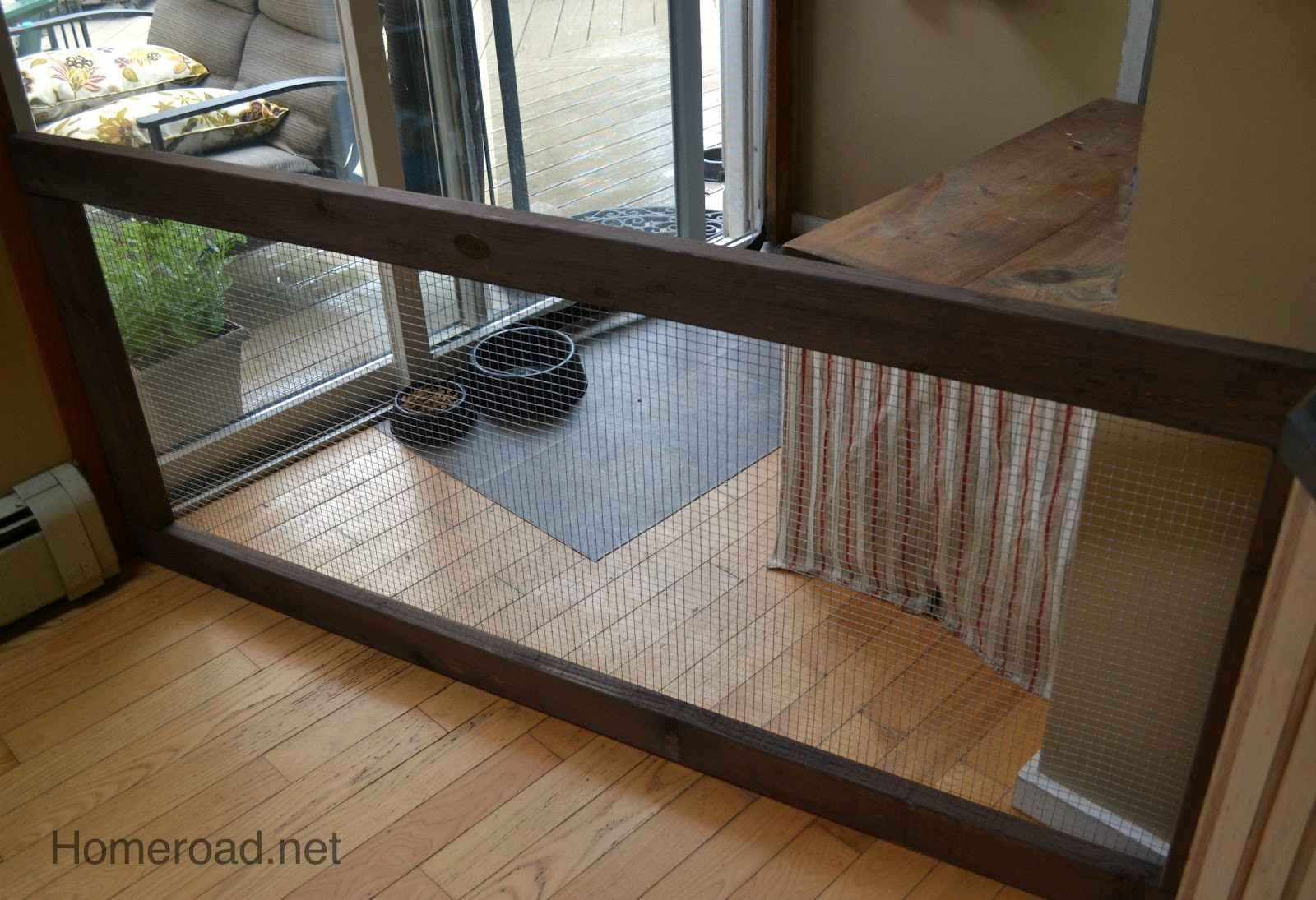 Best ideas about DIY Indoor Dog Gate . Save or Pin DIY Dog Fence Now.