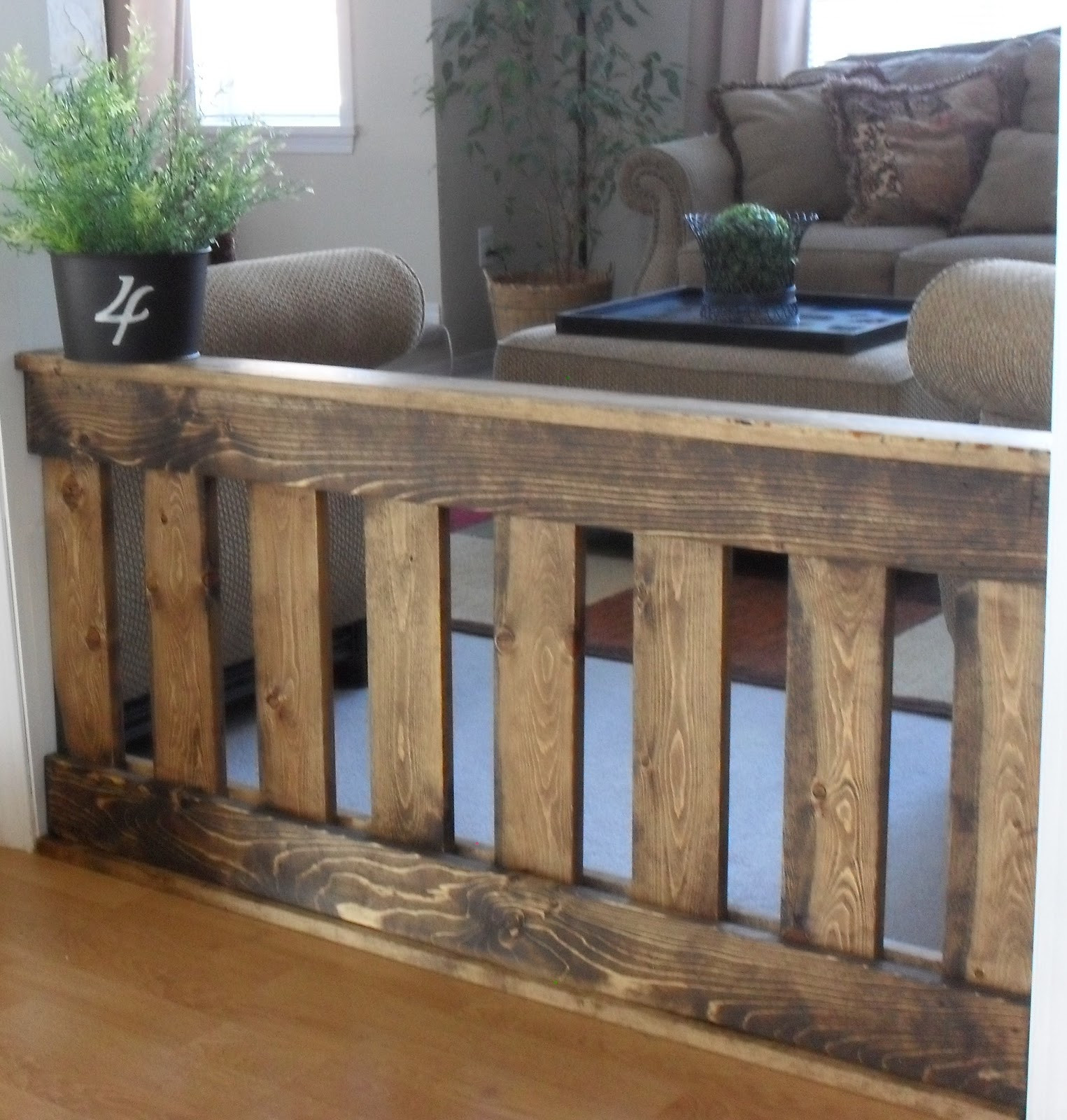 Best ideas about DIY Indoor Dog Gate . Save or Pin Home Frosting Indoor Fencing Now.