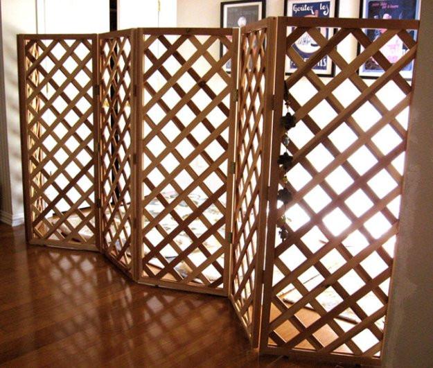 Best ideas about DIY Indoor Dog Gate . Save or Pin DIY Trellis Pet Gate petdiys Now.