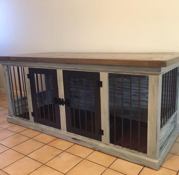 Best ideas about DIY Indoor Dog Kennel . Save or Pin De 25 bästa idéerna om Dog Crate Furniture hittar du på Now.
