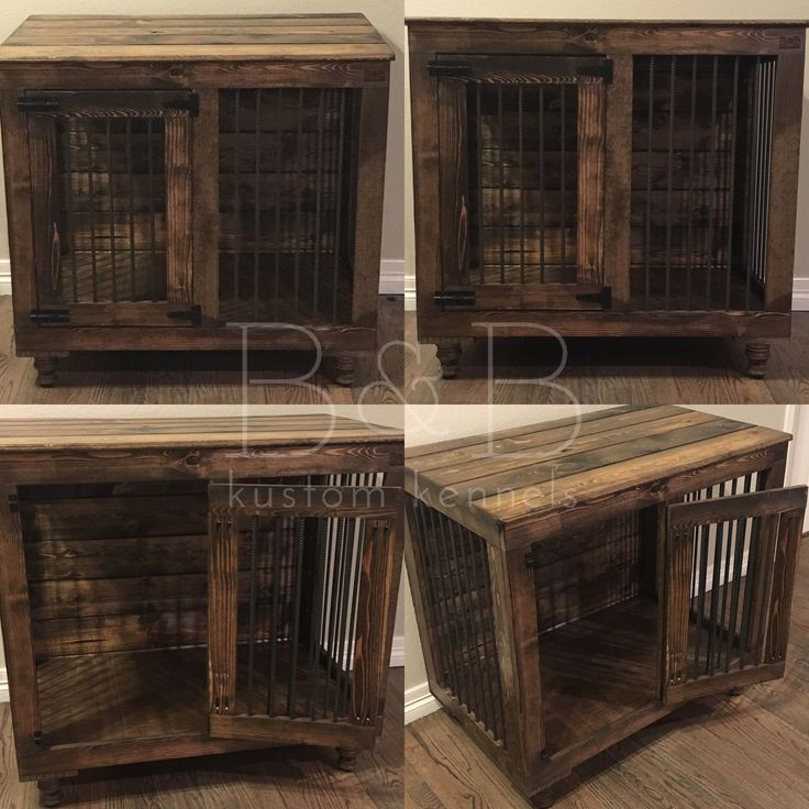 Best ideas about DIY Indoor Dog Kennel Plans . Save or Pin Single Doggie Den Now.
