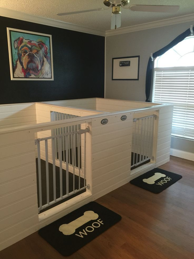 Best ideas about DIY Indoor Dog Kennel Plans . Save or Pin Top 25 best Dog hotel ideas on Pinterest Now.