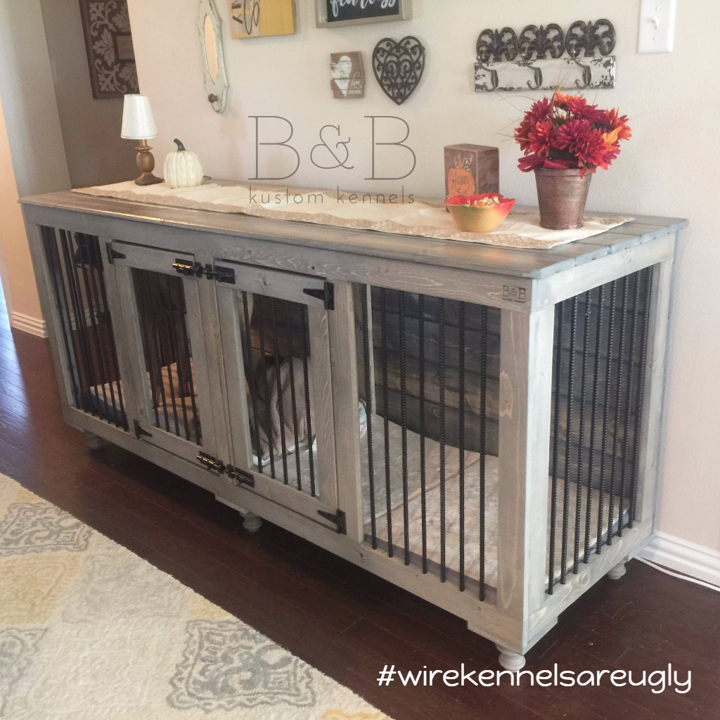 Best ideas about DIY Indoor Dog Kennel Plans . Save or Pin BB Kustom Kennels Now.