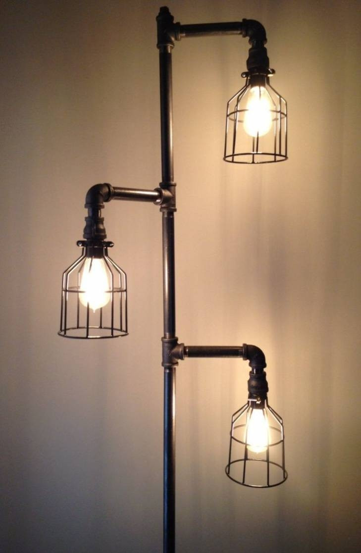Best ideas about DIY Industrial Floor Lamp . Save or Pin 15 Inspirations of Industrial Floor Lamp Now.