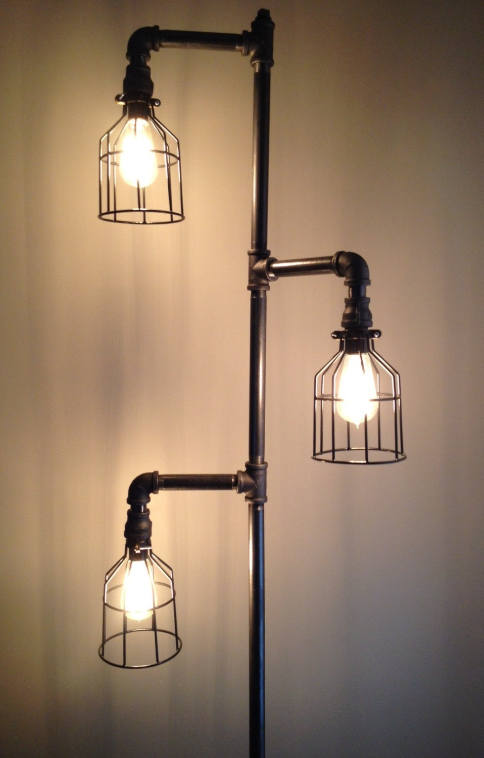 Best ideas about DIY Industrial Floor Lamp . Save or Pin Inexpensive DIY Floor Lamp Ideas to Make at Home Now.