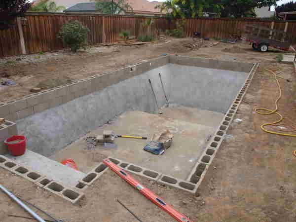 Best ideas about DIY Inground Pool Kit . Save or Pin Cinder Block Pool Kits DIY Inground Pools Kits Now.